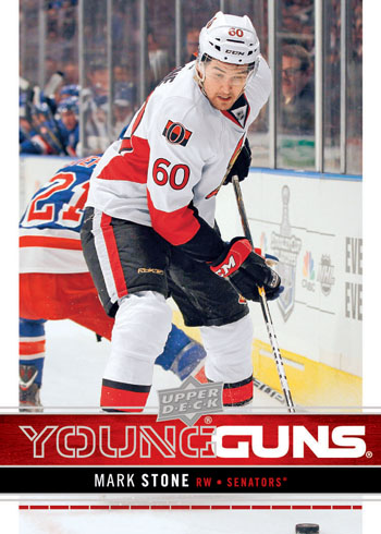 2012-13 Upper Deck Young Guns Mark Stone