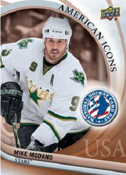 Mike Modano hockey card