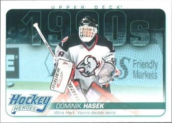 Dominik Hasek Upper Deck Hockey Heroes