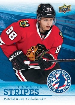 Patrick Kane Hockey Card Day in the USA