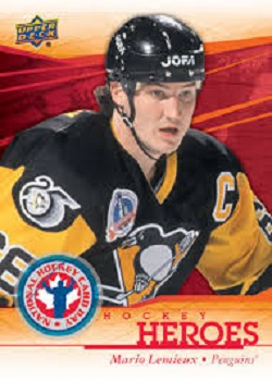 Mario Lemieux SP hockey card