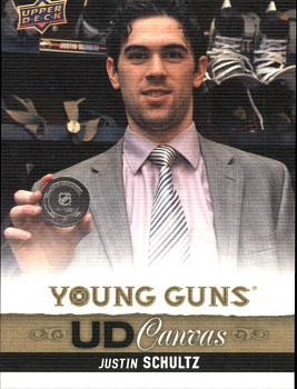 Justin Schultz Canvas Young Guns