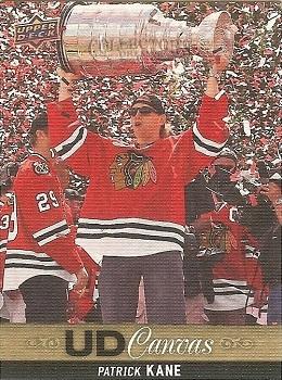 Patrick Kane Upper Deck Canvas hockey card