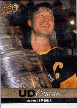 Mario Lemieux Upper Deck Canvas