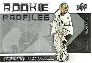Jack Campbell Rookie Profiles