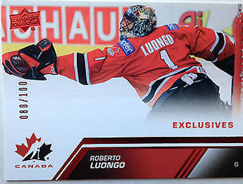 Roberto Luongo Team Canada Exclusives