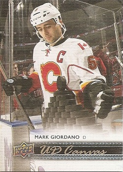 Mark Giordano Upper Deck Canvas