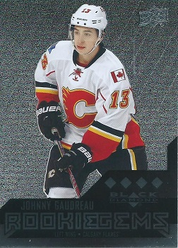 Johnny Gaudreau Black Diamond Rookie Card