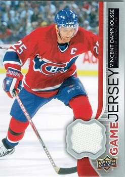 Vincent Damphousse Upper Deck Game Jersey
