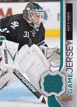 2014-15 Upper Deck Game Jerseys Antti Niemi
