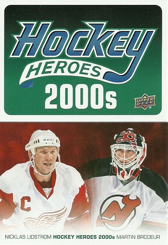 2014-15 Upper Deck Heroes Checklist Cover