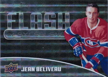 Jean Beliveau Flash of Excellence