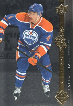 Taylor Hall Upper Deck Shining Stars