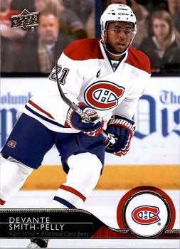 2014-15 Upper Deck Update Devante Smith-Pelly