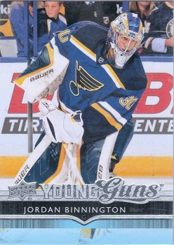 Jordan Binnington 2014-15 Upper Deck Young Guns RC