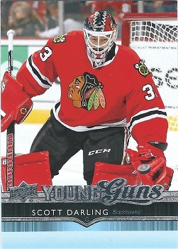 Scott Darling Upper Deck Young Guns