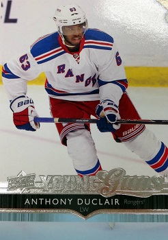 Anthony Duclair Upper Deck Rookie Card