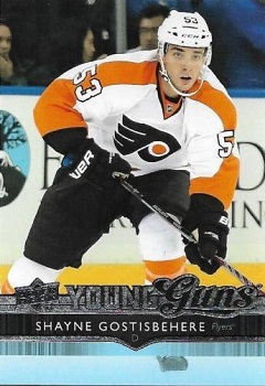 Shayne Gostisbehere Upper Deck Young Guns RC #464