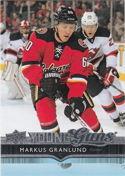 Markus Granlund Upper Deck Young Guns #453