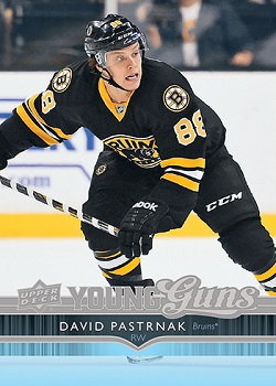 David Pastrnak 2014-15 Upper Deck Young Guns