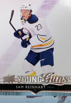 Sam Reinhart Upper Deck Rookie Card