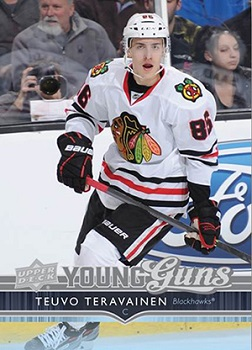 Teuvo Teravainen Upper Deck Rookie Card