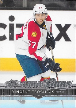 Vincent Trocheck Upper Deck Young Guns