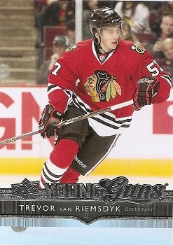 Trevor van Riemsdyk Upper Deck Rookie Card