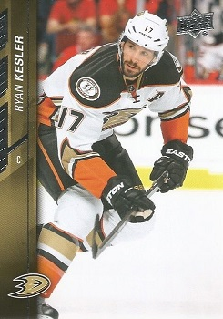 Ryan Kesler 2015-16 Upper Deck #256
