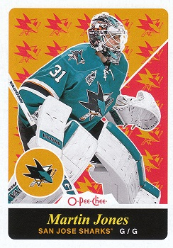 Martin Jones 2015-16 OPC Retro Update #U8