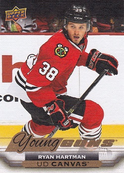 Ryan Hartman Young Guns Canvas #C233