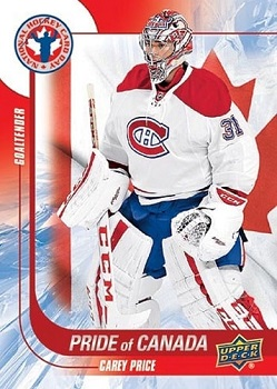 Carey Price UD Hockey Card Day