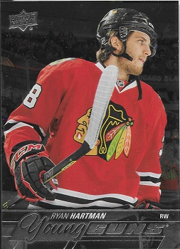 Ryan Hartman 2015-16 Upper Deck Young Guns Silver Foil