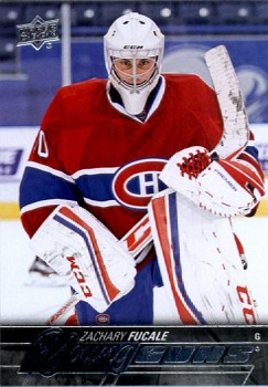 Zach Fucale 2015-16 Young Guns RC