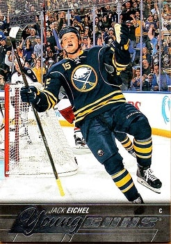 Jack Eichel Upper Deck Young Guns #451