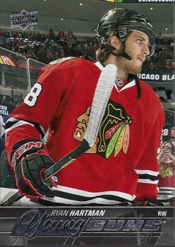 Ryan Hartman Upper Deck Young Guns #475