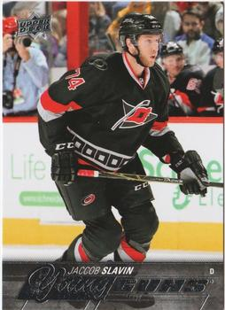 Jaccob Slavin Upper Deck Young Guns RC #469