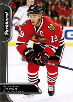 Jonathan Toews 2016-17 Parkhurst Black #75