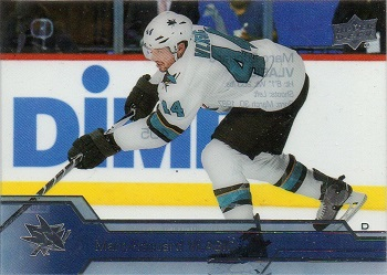 Marc-Eduard Vlasic Upper Deck Acetate