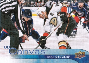 2016-17 Upper Deck Canvas #1 Ryan Getzlaf