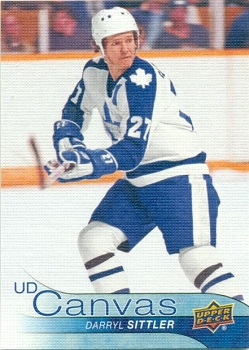 Darryl Sittler 2016-17 Upper Deck Canvas #252