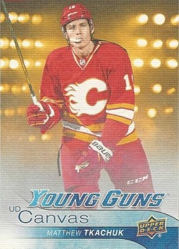 Matthew Tkachuk Canvas Young Guns
