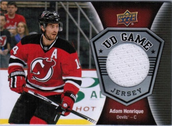 Adam Henrique 2016-17 Upper Deck Game Jersey