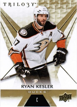 2016-17 Upper Deck Trilogy Ryan Kesler