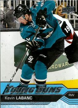 Kevin Labanc Upper Deck Young Guns