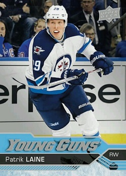 Patrick Laine Upper Deck Young Guns