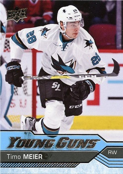 Timo Meier 2016-17 Upper Deck Young Guns