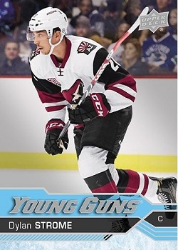 Dylan Strome Upper Deck Rookie Card