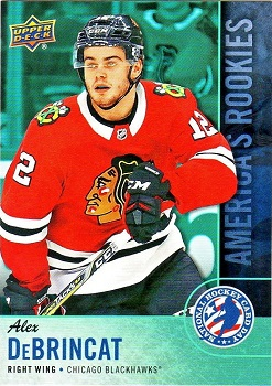 Alex Debrincat Hockey Card Day in the USA