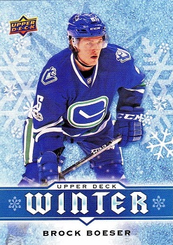 Brock Boeser 2017-18 Upper Deck Winter